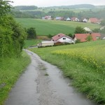 Running through the Mosbach Region
